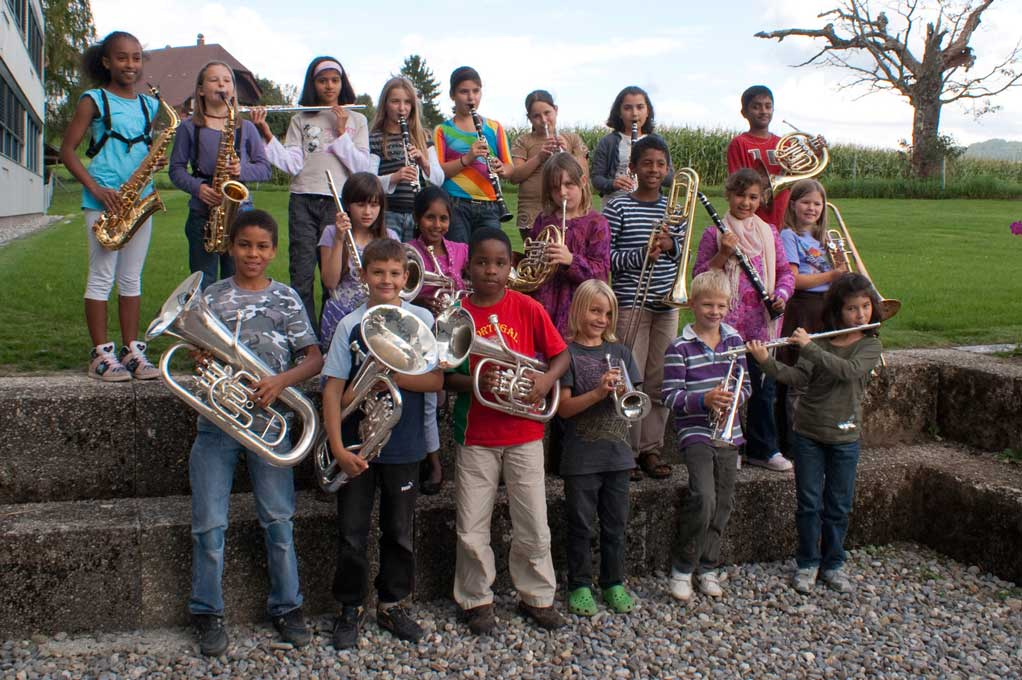 Young wind ensemble © Siegfried Aulbach